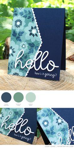 Hello by Lizzie Jones for Papertrey Ink
