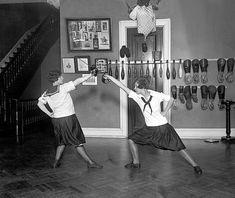 Western High School fencing team.  Washington, 1925