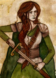 Gwenllian ferch Gruffydd 1097–1136 - a Princess Consort in Wales, married to Gruffyd ap Rhys, Prince of Deheubarth. The fair maiden was said to be very beautiful, & very popular w/ her people. A battle broke out near Kidwelly Castle & Gwenllian led her army against the raid but was captured and beheaded, along with two sons. She is often compared to Boudicca for her leadership & strength. - By Lisa Graves, History Witch