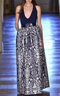 Martin Grant Spring/Summer 2015 Trunkshow Look 22 on Moda Operandi