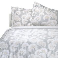 Love this print - prefer the darker colour though. Florence Broadhurst Jap Floral Quilt Cover Set Silver from Domayne