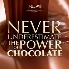 Never underestimate the power of chocolate! Chocolate Pumpkin Bread, French Chocolate, I Love Chocolate, Chocolate Shop, Chocolate Lovers, Funny Chocolate Quotes, Chocolate Humor, Jokes Quotes, Funny Quotes