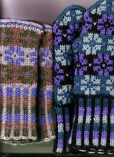 lupinescancover by knitting in color, via Flickr