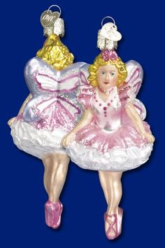 Sugar Plum Fairy,  Christmas Glass Ornaments  www.oldworldchristmas.com