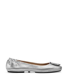 Visit Tory Burch to shop for Minnie Travel Ballet Flat, Metallic Leather  and more Womens Ballet Flats. Find designer shoes, handbags, clothing &  more of ...