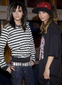 Bill & Tom of Tokio Hotel :)