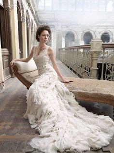 Lazaro Wedding Dresses Photos on WeddingWire