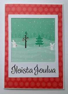 SSS November 2014 card kit Joulukortti