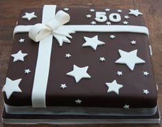 50th birthday present cake