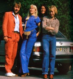 ABBA in Stockholm August 1979. The group was rehearsing in Stockholm before their second world tour.