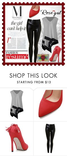 """""""Modern"""" by summer-marin ❤ liked on Polyvore featuring Jennifer Lopez, GEDEBE and modern"""