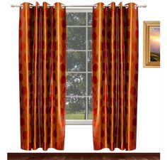 Give a total royal look to your room with these heavy knitting polyester brown curtains.This color goes with any type and color of surroundings . This is a color that seeks peace and tranquility above everything and brings abundance .We are promised to provide best quality at very affordable price and we are moving step forward with our new range of heavy polyester curtains.