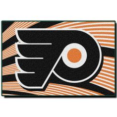 """Use this Exclusive coupon code: PINFIVE to receive an additional 5% off the Philadelphia Flyers 20"""" x 30"""" Rug at SportsFansPlus.com"""