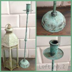 #swiecznik #mietowy #loft #retro #mint