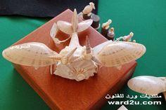 Seashell Art, Seashell Crafts, Shell Animals, Driftwood Sculpture, Painted Shells, Shell Beach, Easy Diy Crafts, Sea Shells, Sculptures