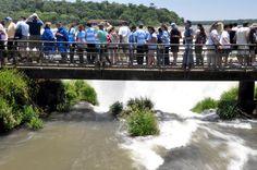 Las Cataratas de Iguazú, ¿escenario natural?