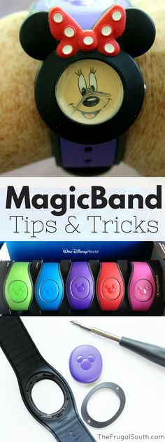 12 tips & tricks for having the best possible MagicBand experience at #disneyworld