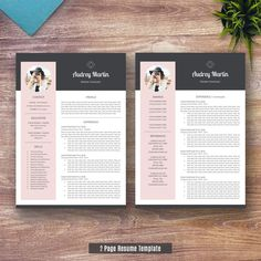 #RESUME #RESUMETEMPLATE #TEMPLATE #WORD #CV #COVERLETTER >> ❤ Shared By ResumeExpert.Etsy.com ❤ >> Personalized and Professional Resume Template Samples For Job Hunters. >> Elegant, Simple and Attractive! >> Save and Repin!