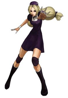 Hinako Shijou from The King of Fighters 2001