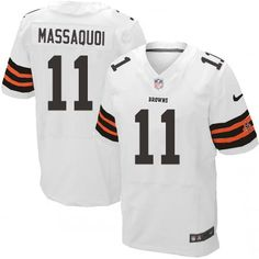 960c90ab8 ... Men Nike Cleveland Browns 3 Brandon Weeden Elite White NFL Jersey Sale  NFL Pinterest Brandon weeden ...