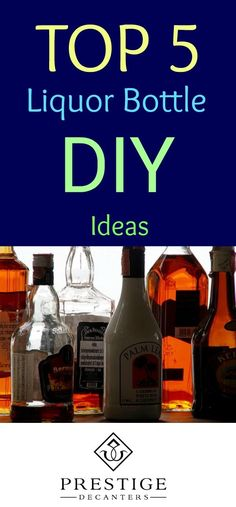 Searching for some DIY wine bottle and liquor bottle ideas to make a statement in your home or yard? Your inspiration begins here! Keep reading for a project that could be exactly what you had in mind for your front porch, back deck, home bar, kitchen, or sunroom! #DIY #winebottles #wine #DIYideas #liquor