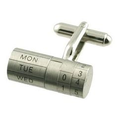 """""""cuff the date"""" cuff link - man accessories"""