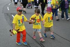 Once again, Rhabdomyosarcoma Survivor Griffin is joining Sophie's Roaring Monkeys Team (with his girl friend Sophie) to walk the Relay for Life. Please help us support the Canadian Cancer Society and help us conquer Cancer! #WhyIRelay #ChildhoodCancerSucks #BestFriendsForLife