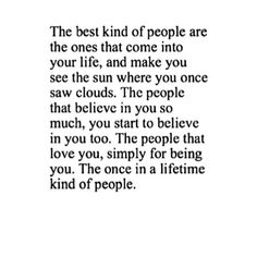 The best kind of people....