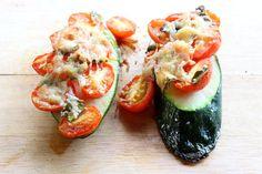 5-Minute Meals: Zucchini Pizza