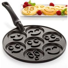 Nordic Ware Smiley Faces Pancake Pan