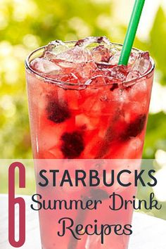 It's too easy to drop money at Starbucks when you're hot and thirsty. Check out these 6 Starbucks summer drink recipes that will save you big bucks.