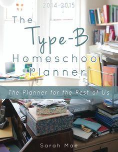 The Type-B Homeschool Planner is Here! - Raising Homemakers