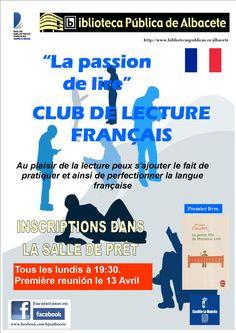 #actividadesbiblioteca ¡Nuevo! Comenzamos un club de lectura en francés.