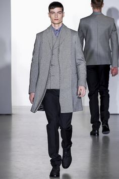 Calvin Klein Collection Fall 2013 Menswear Collection