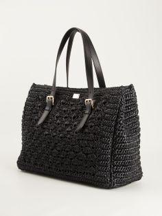 Dolce & Gabbana Crochet Knit Tote