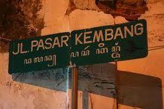 Pasar Kembang, tempat kembang-kembang main pasaran :)