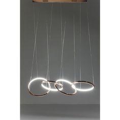 KARE Design :: Lampa wisząca Connection LED miedziana 39165 | 9design.pl Warszawa