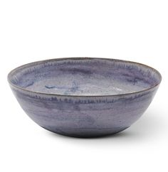 Dame Lucie Rie 1902-1995 AN EARLY EARTHENWARE BOWL signed with Artist's initials, earthenware with a lilac glaze  diameter: 18.5cm. Executed circa 1930.