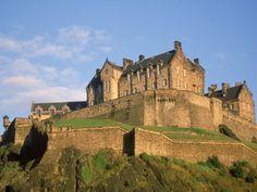 The Castle in Edinburgh