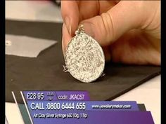 PMC Flex Silver Clay, a new Precious Metal Clay from Mitsubishi Materials - YouTube