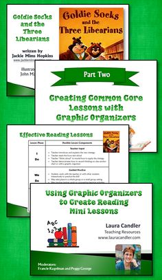 Learn how to use graphic organizers to create reading lessons based on Common Core Standards. Watch this free webinar recording to discover just how easy it is!
