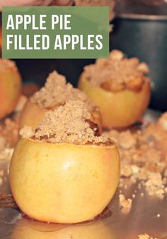 Recipe: Apple Pie Filled Apples