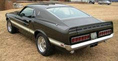 1969 Ford Mustang Shelby GT500 428 Cobra Jet, driver's side rear