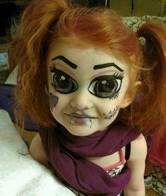 Monster high makeup, whoa