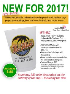 NEW Full Color Cups from Leprechaun