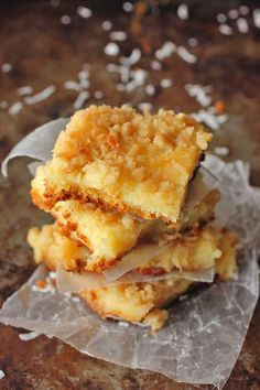 Lemon Coconut Oeey Gooey Bars. I love gooey butter cake and I love lemon squares. I'm thinking this is a marriage made in heaven.
