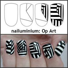 Nailuminium: Op Art! (+tutorial)