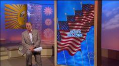 Larry Eckhardt The Flagman - CBS Sunday Morning -- 5-27-12