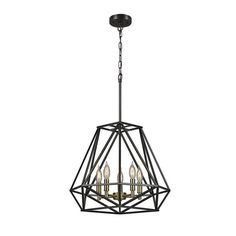 Globe Electric Company Sansa 5-Light Candle-Style Chandelier