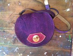 Handmade leather crossbody. Leather crossbody by TheSacredWays